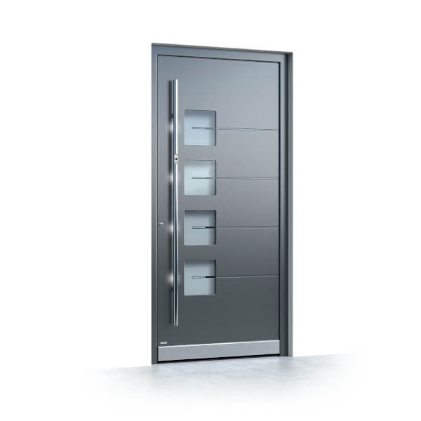 Aluminum Entry Doors In Beautiful Modern Designs Neuffer Windows Ca