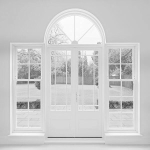 French Doors with Side Panels