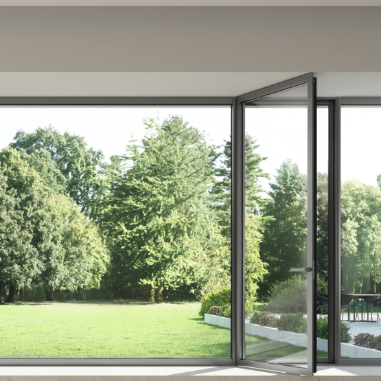 Aluminum French Doors